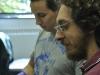 Davide and Lahcen, Dartmouth Summer 2010