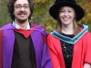 Davide and Thérése, Graduation, November 3rd, 2011