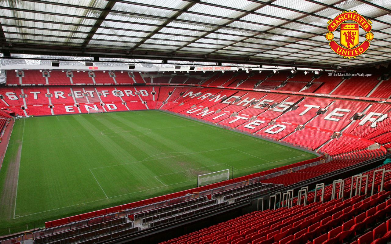 Old Trafford Stadium Manchester United Wallpapers Hd
